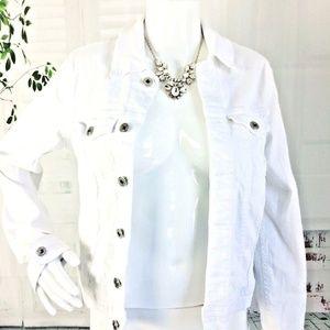 AG Adriano Goldschmied Women's Buttoned Mya Jacket